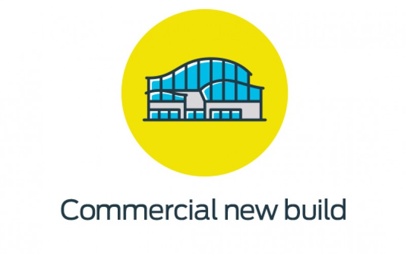 Commercial new build icon