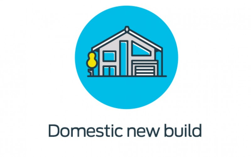 Domestic new build icon