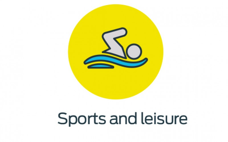 Sports and leisure icon